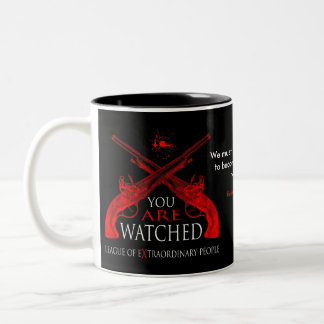You Are Watched Two-Tone Mug