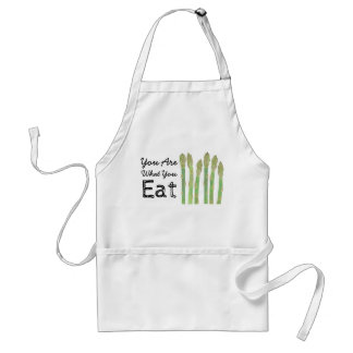 You Are What You Eat Asparagus Apron