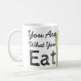 You Are What You Eat Asparagus Coffee Mug