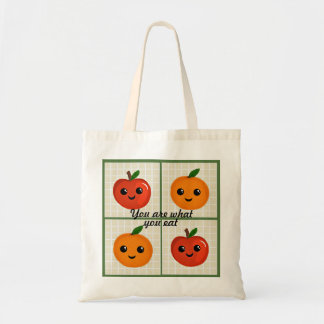 You are what you eat(Happy Fruit) TOTE