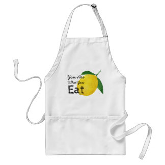 You Are What You Eat Lemon Apron