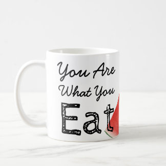 You Are What You Eat Watermelon Coffee Mug
