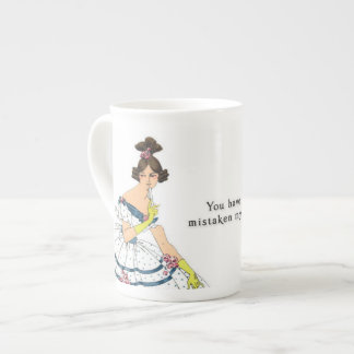 You are widely mistaken - Pride & Prejudice Tea Cup