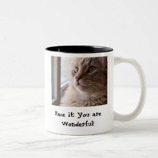 You are Wonderful Two-Tone Mug