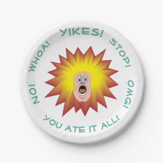 You Ate It All Personalized Paper Plate