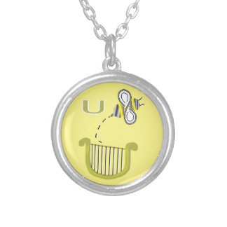 You Bee a Liar Round Pendant Necklace