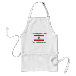 You bet your kibbi I'm Lebanese Standard Apron