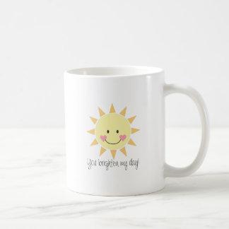 You Brighten My Day! Mug