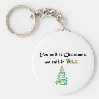You Call it Christmas, We Call it Yule Keychains