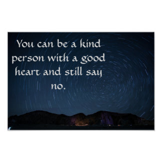 You can be kind poster