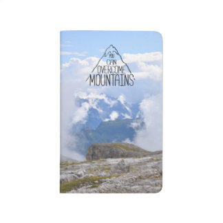 You Can Climb Mountains Notebook