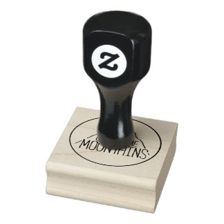You Can Climb Mountains Rubber Stamp