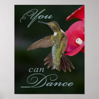 You Can Dance Hummingbird Poster