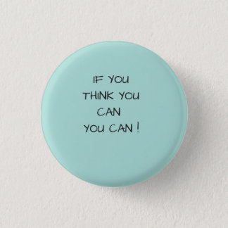 You can do it ! 3 cm round badge