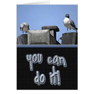 You Can Do It Birds Card
