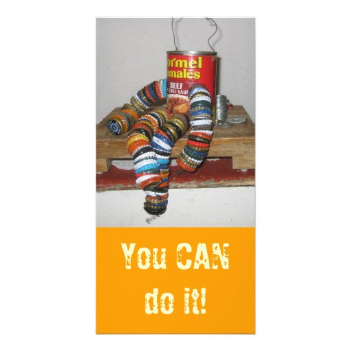 You Can Do It Photo Card Picture Card
