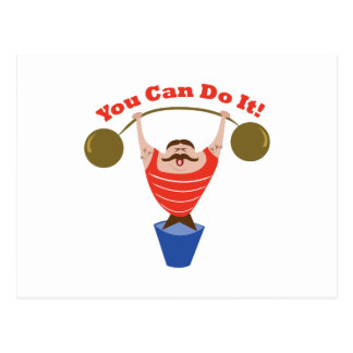 You Can Do It Postcard