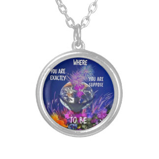 You can do it silver plated necklace