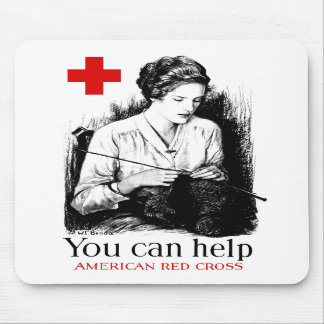 You Can Help American Red Cross Mousepad