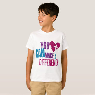 You Can Make a Difference Kids T-Shirt