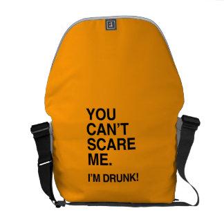 YOU CAN T SCARE ME I M DRUNK - Halloween Messenger Bag