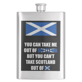 You Can Take Me Out of Scotland... Flasks