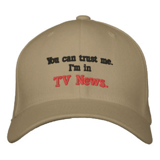 You can trust me embroidered cap