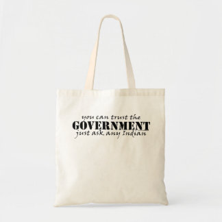 You Can Trust the Government Small Tote Canvas Bags