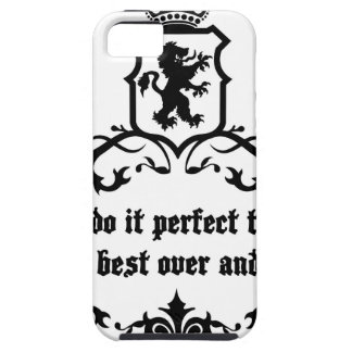 You Cannot Do It Perfect Medieval quote iPhone 5 Covers