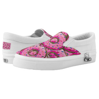 You can't buy happiness but many donuts Slip-On shoes
