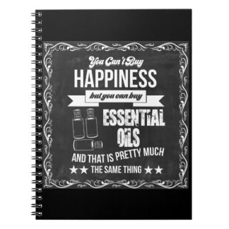 You can't buy Happiness but you can buy EO! Spiral Notebook