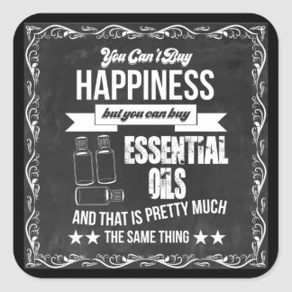 You can't buy Happiness but you can buy EO! Square Sticker