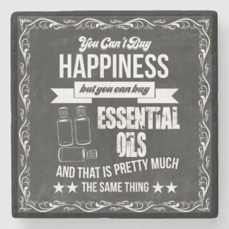 You can't buy Happiness but you can buy EO! Stone Beverage Coaster