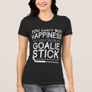 You Can't Buy Happiness Funny Hockey T-Shirt