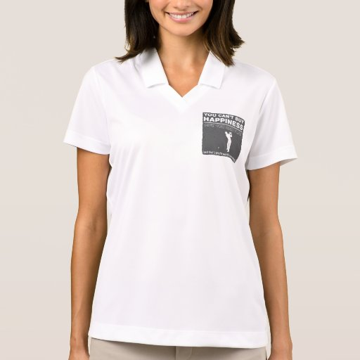 You Can't Buy Happiness Play Golf Polos