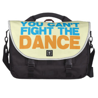You can't FIGHT THE DANCE! Laptop Messenger Bag