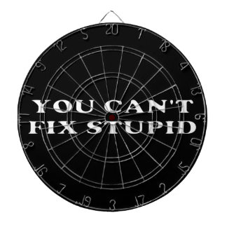 You Can't Fix Stupid Dart Boards