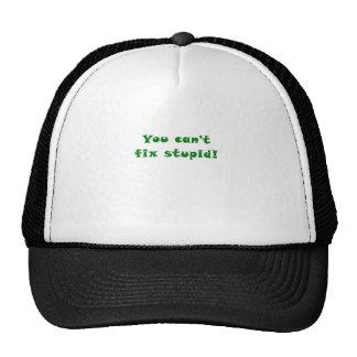 You cant fix Stupid Mesh Hat