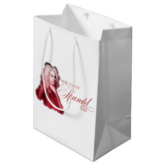 You Can't Handel This Classical Composer Pun Medium Gift Bag