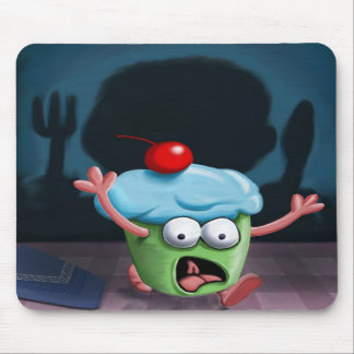 You Can't Hide From The Muffin Man Mousepad