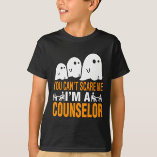 You Can't Scare A Counselor Halloween Costume T-Shirt