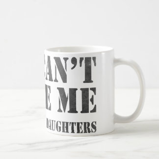 You Can't Scare Me Basic White Mug