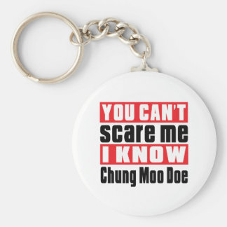 You Can't Scare Me I Know Chung Moo Doe Basic Round Button Key Ring