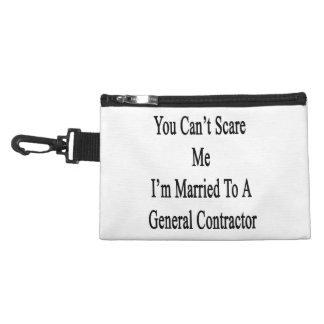 You Can't Scare Me I'm Married To A General Contra Accessory Bag