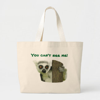 You can't see Lemur Tote bag