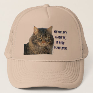 You Couldn't Handle Me Even With Instructions Trucker Hat