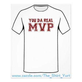 You Da Real MVP 11.5 Cm X 14 Cm Flyer