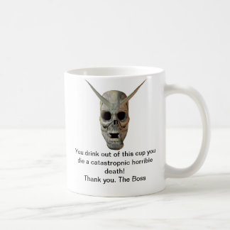 You Die Basic White Mug