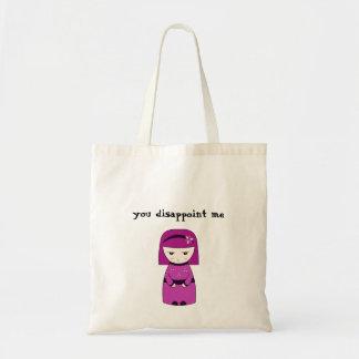 You disappoint me geisha - Bag