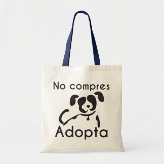 You do not buy adopts fabric stock market tote bag